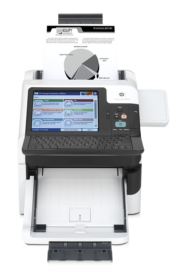 HP Scanjet Enterprise 7000 y 8500, nuevos escáneres de HP
