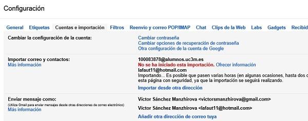 Cómo sincronizar los contactos de Hotmail en Gmail