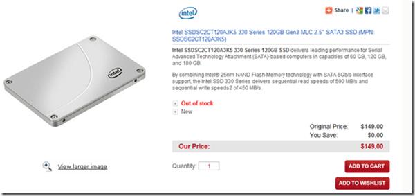Intel SSD 330, nuevas tarjetas SSD de Intel