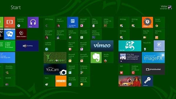 Bloques de Windows 8