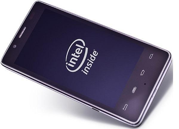 Smartphone con proceadores de Intel