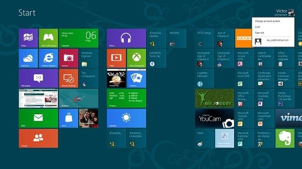 Cómo utilizar varios usuarios en Windows 8