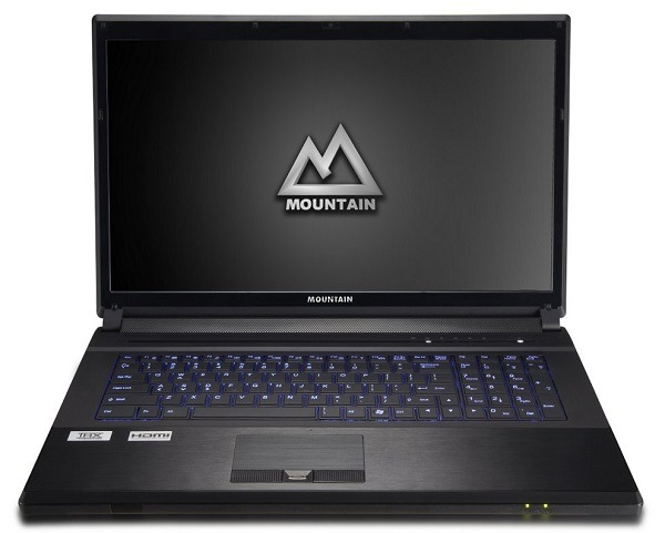Mountain actualiza sus portátiles con procesadores Ivy Bridge