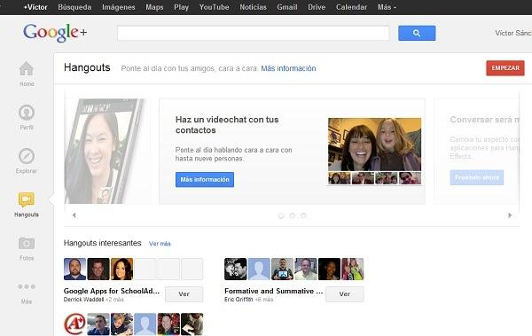 Cómo hacer videoconferencia en grupo gratis con Google+