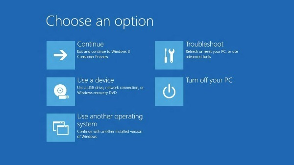 Microsoft cambiará el inicio del sistema en Windows 8