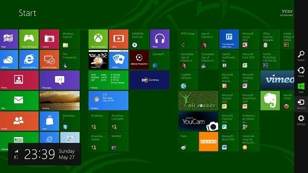 Inicio de Windows 8