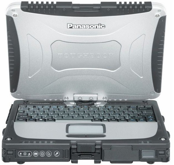 Panasonic Toughbook CF-19, portátil robusto convertible en tablet
