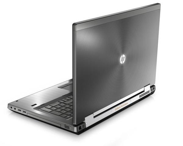 HP EliteBook 8770w, estación de trabajo móvil potente de HP