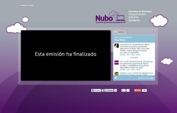 Ono Nubo, Ono lanza un portal de aplicaciones en la nube