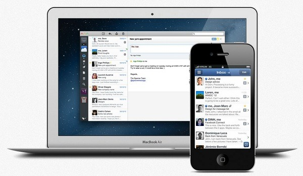 Sparrow para Mac e iPhone