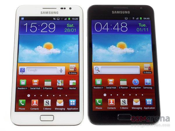 Se filtran características del Samsung Galaxy Note 2