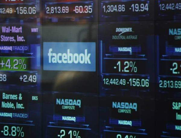 Actividad de Facebook en la Bolsa