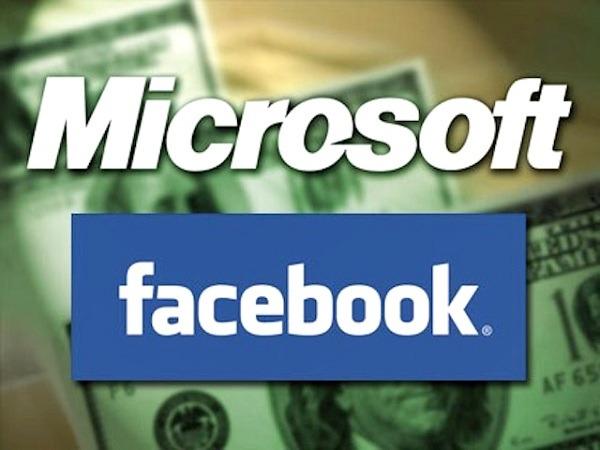 Microsoft vende sus acciones de Facebook