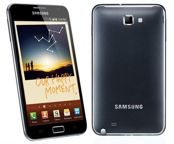 Samsung vende 10 millones de smartphones Samsung Galaxy Note