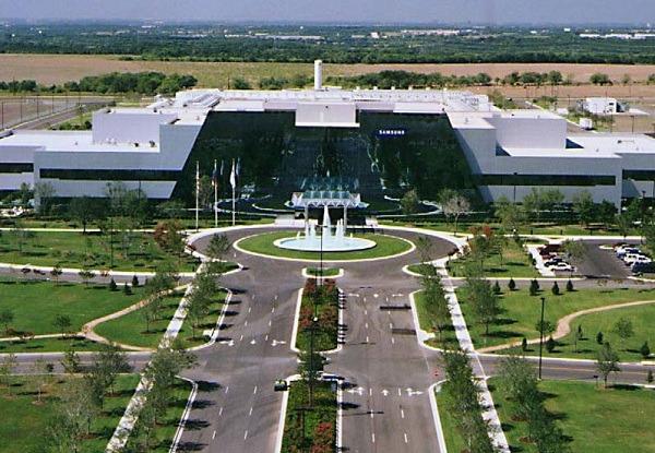 Fábrica de Samsung en Austin