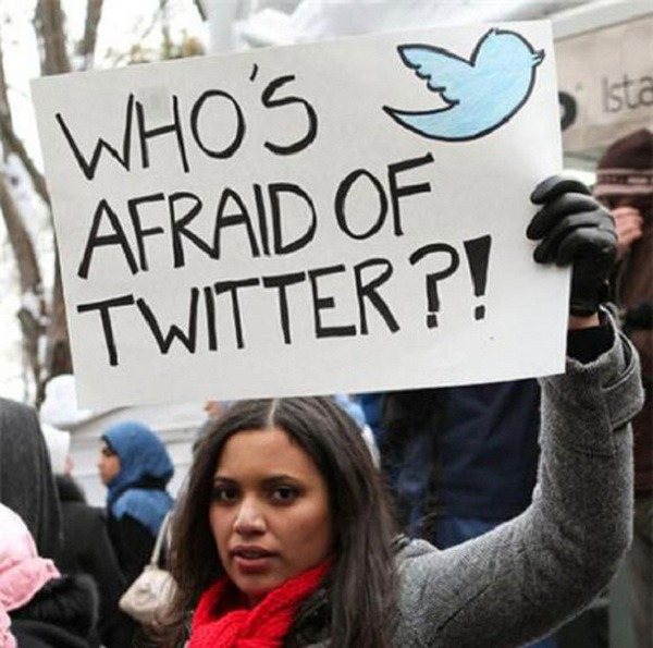 Revolución árabe en Twitter