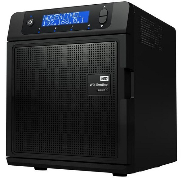 El servidor WD Sentinel DX4000 aumenta su capacidad hasta los 16 TB