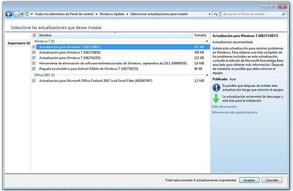 Actualizaciones de Windows, te explicamos cuáles son y para qué sirven