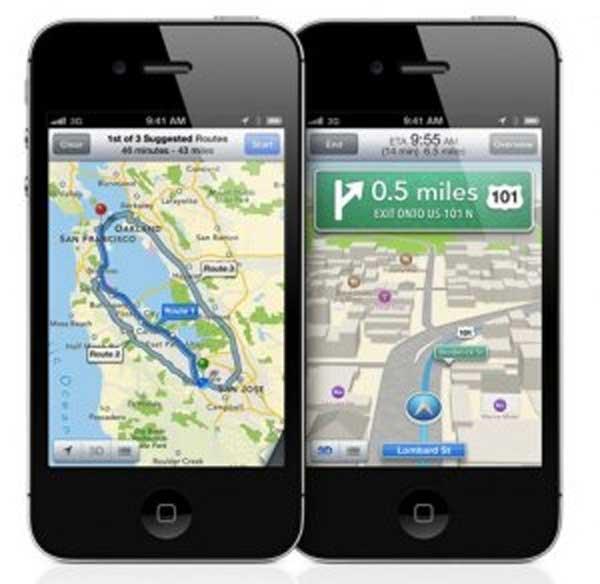 Así se produjo la ruptura entre Apple y Google por sus mapas