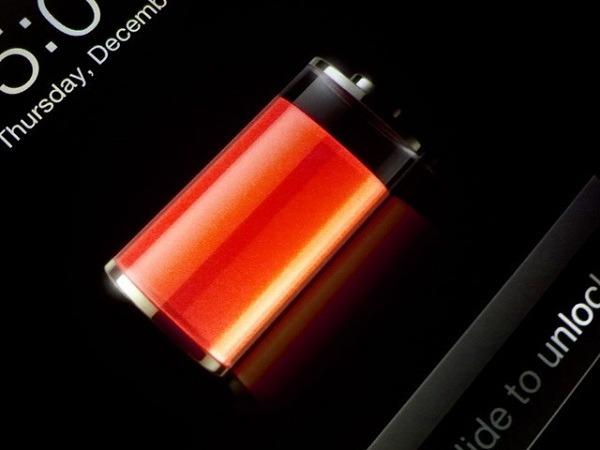 Batería del iPhone
