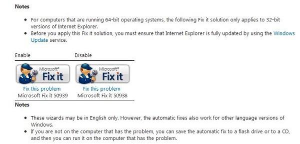 Microsoft ofrece una solución para el fallo de seguridad de Internet Explorer