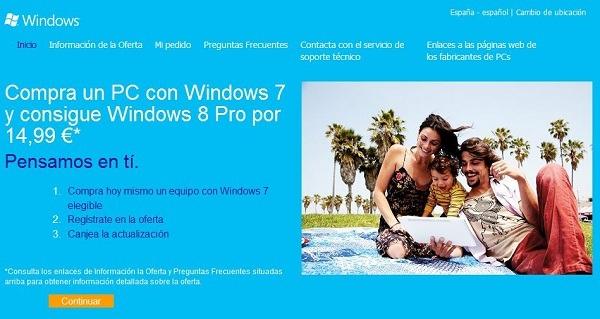 Cómo pasar de Windows 7 a Windows 8, opciones y precios