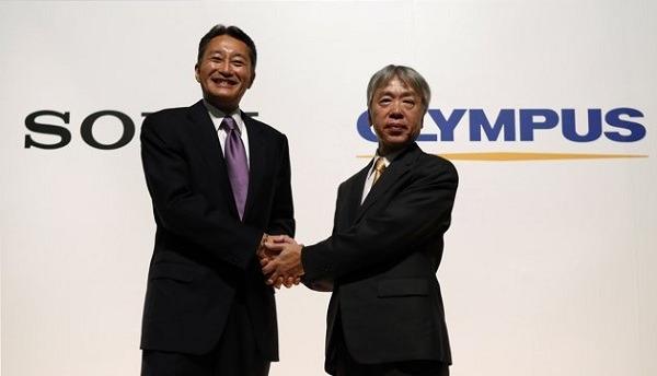 Sony invertirá cerca de 500 millones en acciones de Olympus