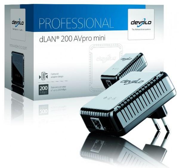 devolo Powerline dLAN 200 AVpro mini