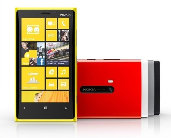 Nokia consigue vender 2,5 millones de Nokia Lumia 920 en tres semanas