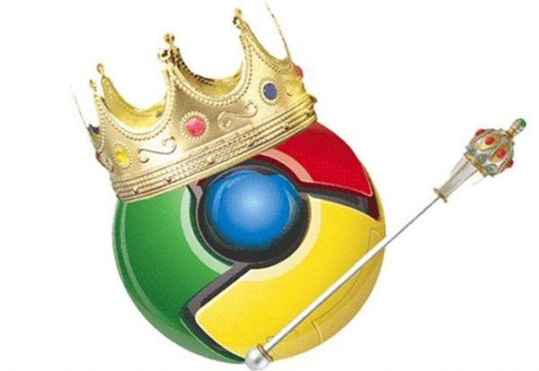 Chrome amplia su ventaja al frente del mercado de navegadores