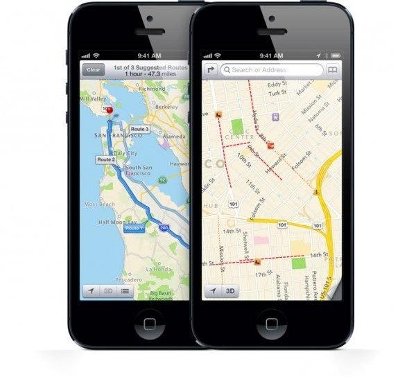 Diez millones de descargas de Google Maps para el iPhone en 48 horas
