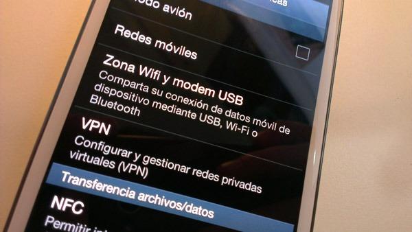 Cómo crear una zona WiFi con el Samsung Galaxy S3