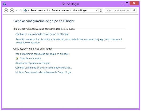 Windows 8 y contraseña de red, cómo ver y cambiar la contraseña de red