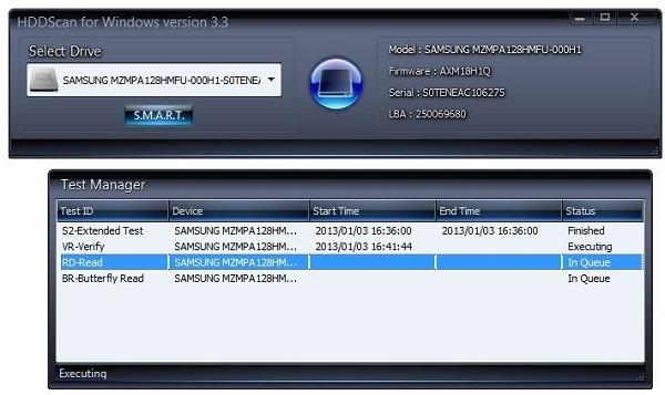 HDDScan, analiza la salud de tu disco duro o SSD