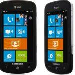 Samsung Focus i917, móvil de Samsung con Windows Phone 7 y pantalla táctil super AMOLED