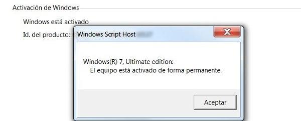 Cómo saber si Windows 7 está activado