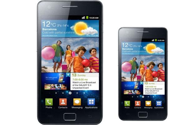 Samsung Galaxy S II Mini, hermano pequeño del Samsung Galaxy S II con buenas prestaciones